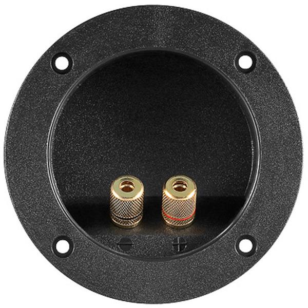 Lautsprecherterminal rund, Durchmesser: 105 mm