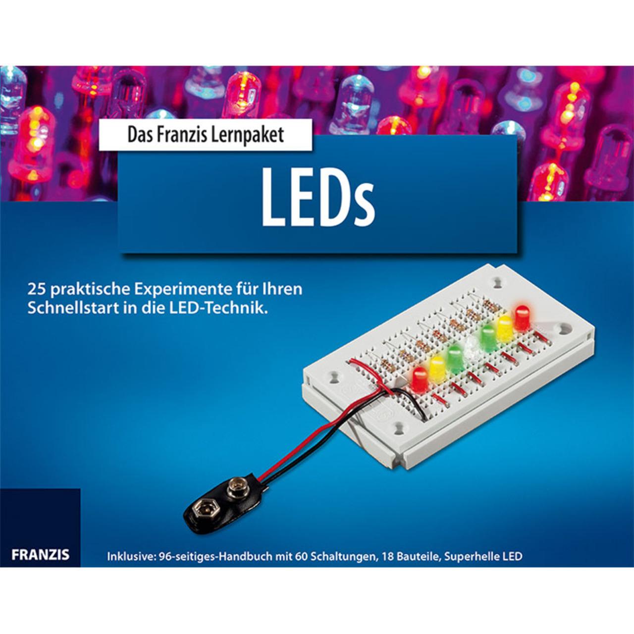 FRANZIS Lernpaket LEDs