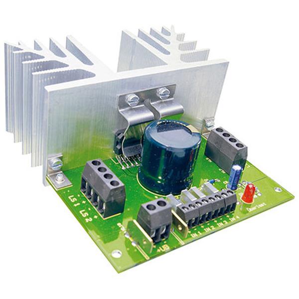 ELV Bausatz Verstärker V 40, 4x40 Watt, ohne Kühlkörper
