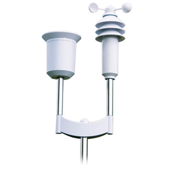 ELV Funk-Kombi-Wettersensor - KS 300 inkl. hochwertigem 2-m-Edelstahlmast und Qualitätsbatterien