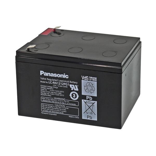 Panasonic Blei-AGM-Akku LC-RN1212PG1, 12V, 12 Ah