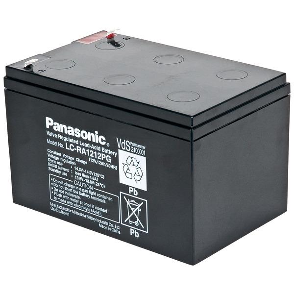 Panasonic Blei-AGM-Akku LC-RA1212PG1, 12V, 12 Ah