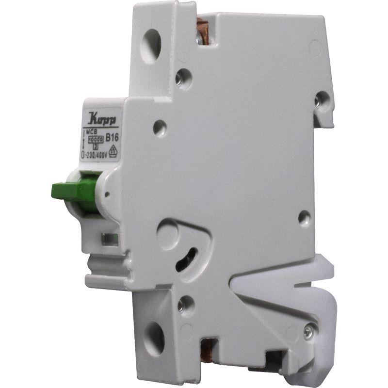 Kopp GREEN ELECTRIC MCB, 16 A, 1-polig