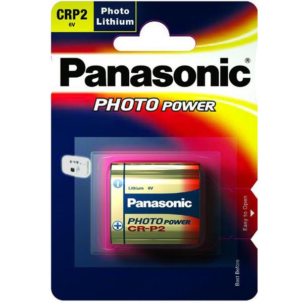 Panasonic Foto-Lithium-Batterie CR-P2