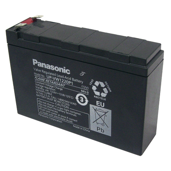 Panasonic Blei-AGM-Akku UP-RW1220P1, 12V, 120 W, 4Ah