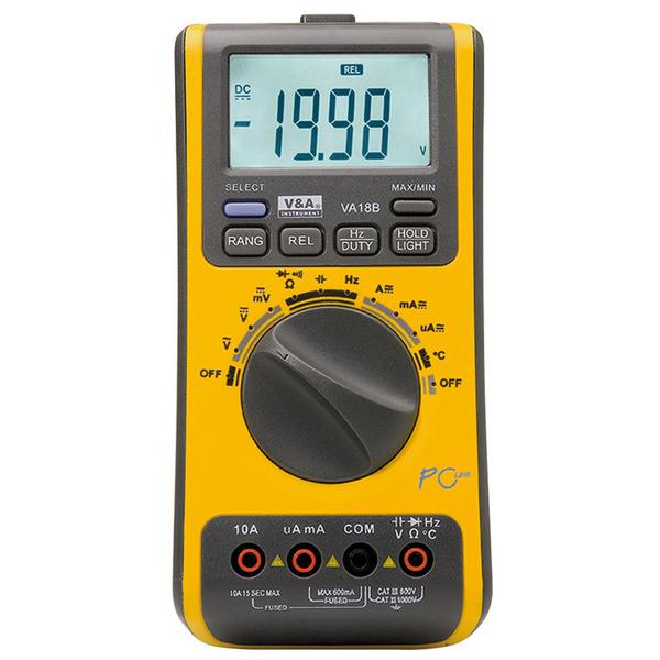 ELV Digital-Multimeter VA18B mit PC-Software