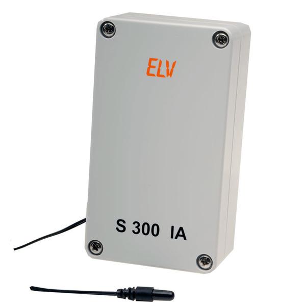 ELV Funk-Innen-/Außen- Temperatursensor S 300 IA für z. B. ELV WS 200/300, ELV WS 300 PC, USB-WDE1 u