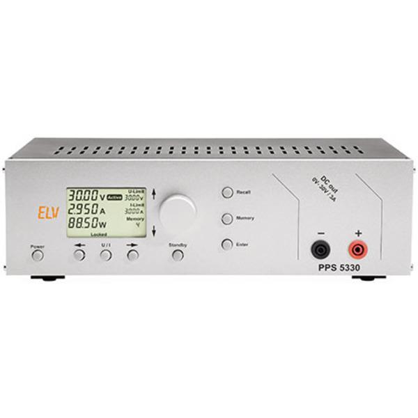 ELV Komplettbausatz Prozessor-Netzteil PPS 5330