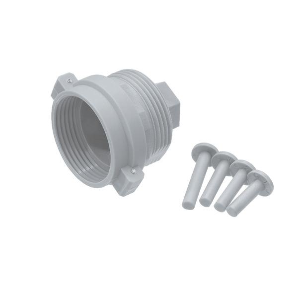 Adapter für Heizungsventil Herz, Comap u. a. M28 x 1,5 mm (Kunststoff)