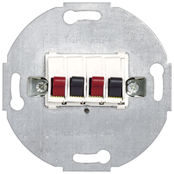 Peha UP-Grundelement - Stereo-Lautsprecher Anschlussdose