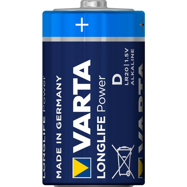 Varta Longlife Power D Blister, 2er Pack