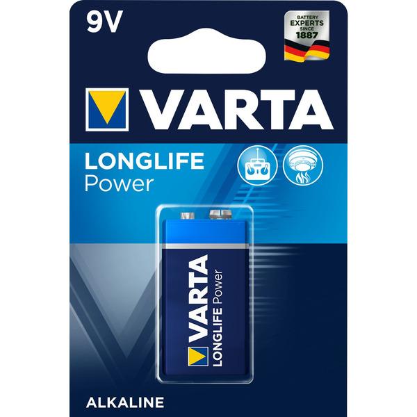 VARTA LONGLIFE Power 9V Blister 1