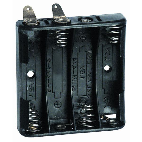 Batteriehalter für 4 x Micromit Lötfahne