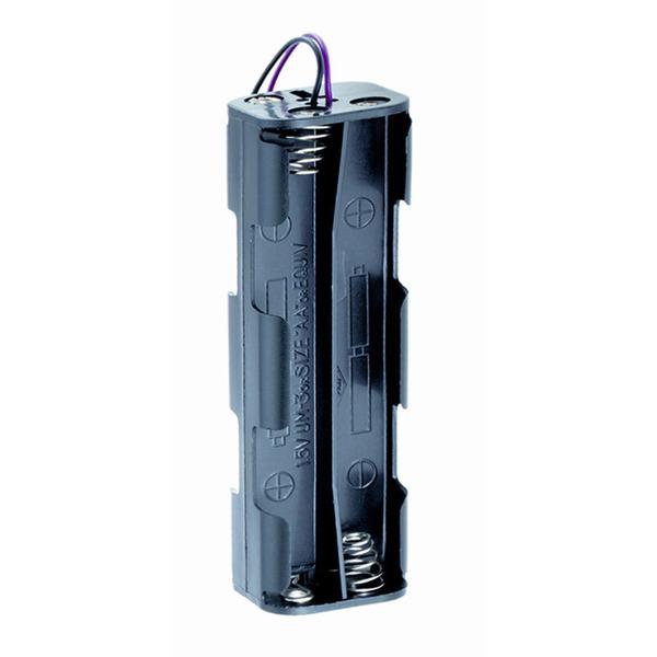 Batteriehalter für 8 x Mignon mit Anschlusskabel