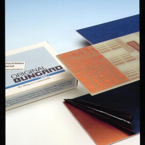 Bungard Basismaterial FR4 100x160x1,5 mm einseitig
