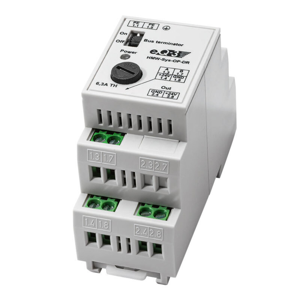 Homematic Wired RS485 Überspannungsschutz HMW-Sys-OP-DR für Smart Home - Hausautomation