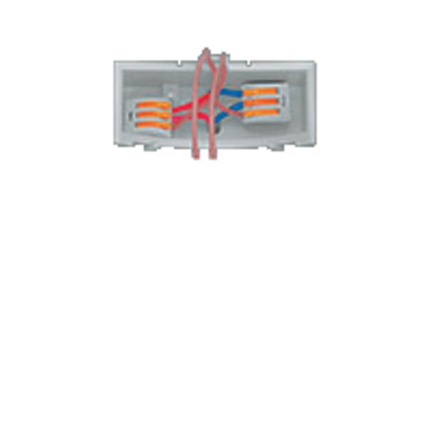 Wago 222 Verbindungsklemme wieder lösbar, 3 Klemmstellen, 3 x 0,08 - 2,5 mm² im 50er Pack