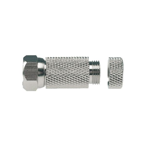 Axing F-Schraubstecker CFS 89-01 für 7mm Koaxialkabel, ClassA