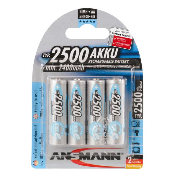 Ansmann maxE plus NiMH-Akku Mignon 2500 mAh