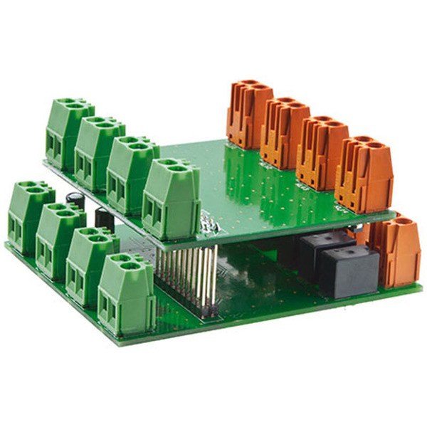 ELV Homematic Bausatz Wired I/O-Board RS485, 12 Eingänge, 14 Ausgänge HMW-IO-12-Sw14-DR