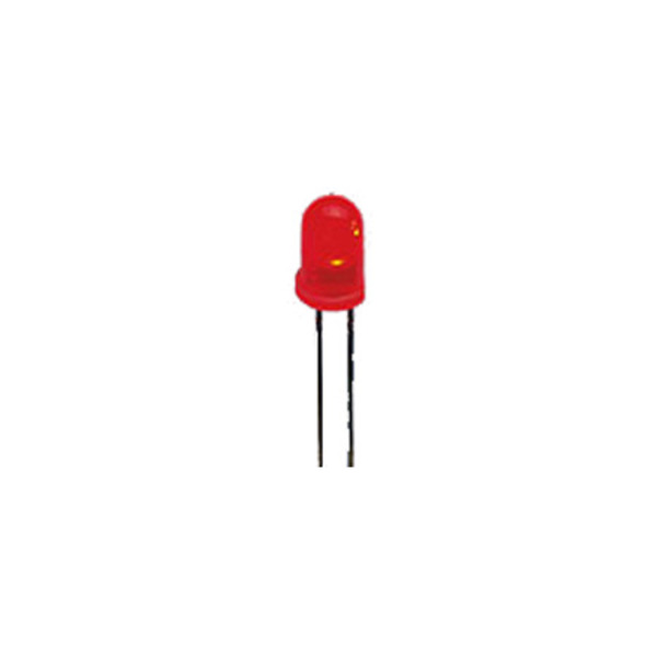 10x LED 3 mm, Rot