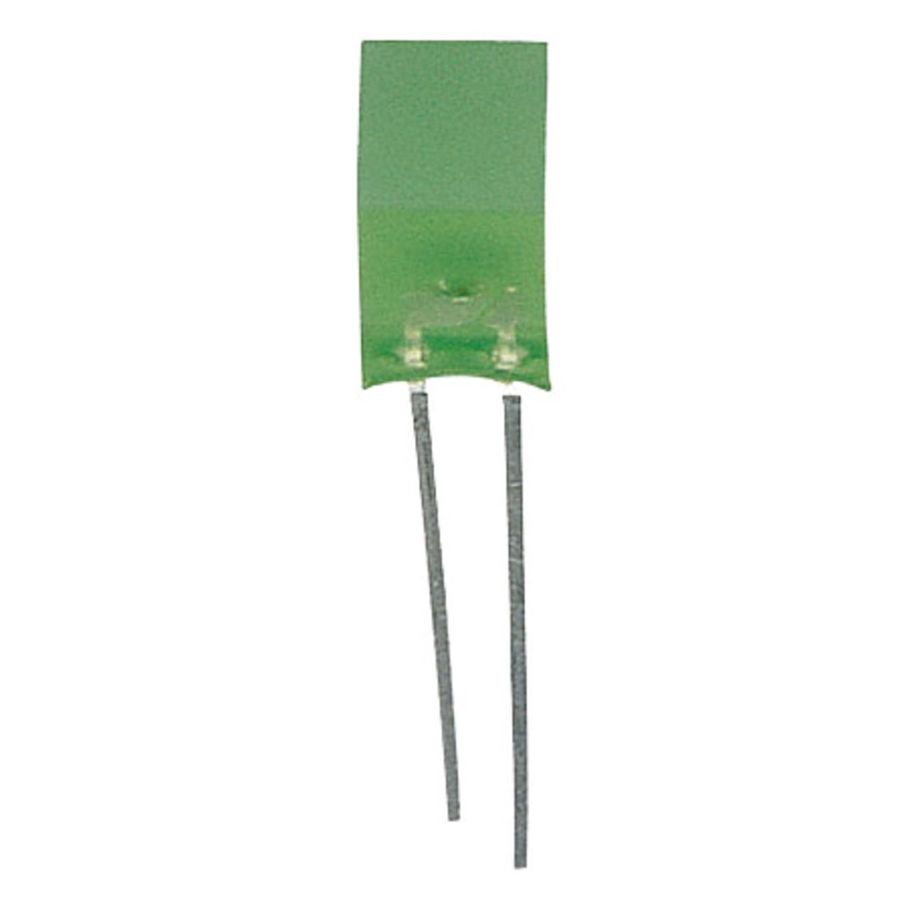 Image of 10x LED Quadratisch 5 x 5 mm Grün