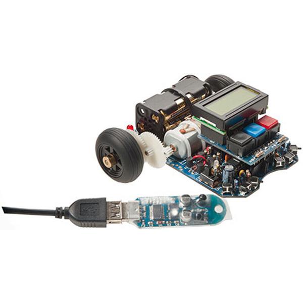 AREXX ASURO-Miniroboter ARX-03, inkl. USB IR-Transceiver