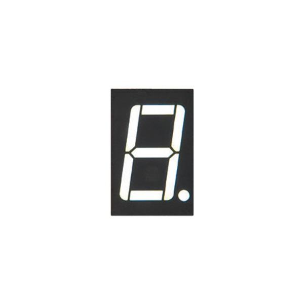 Lucky Light 7-Segment-Anzeige KW1-561AWB-Y, weiß, 14,2 mm