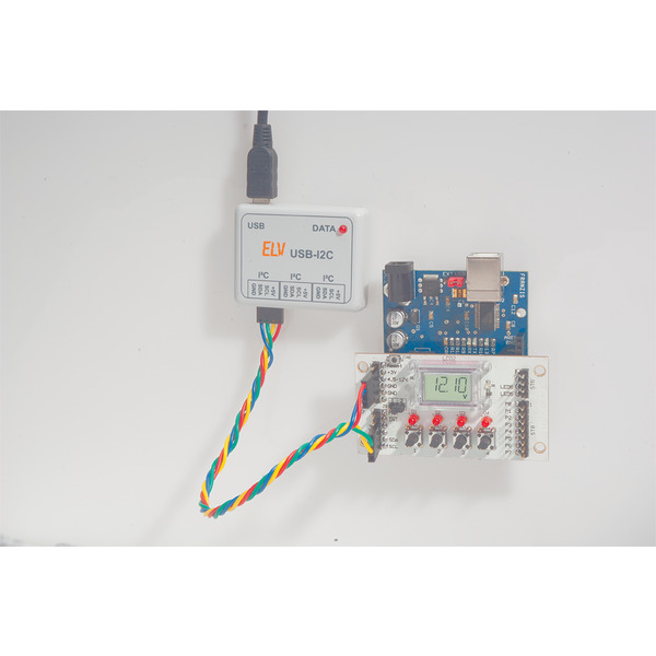 ELV Bausatz I2C-BUS Displaymodul I2C-LCD