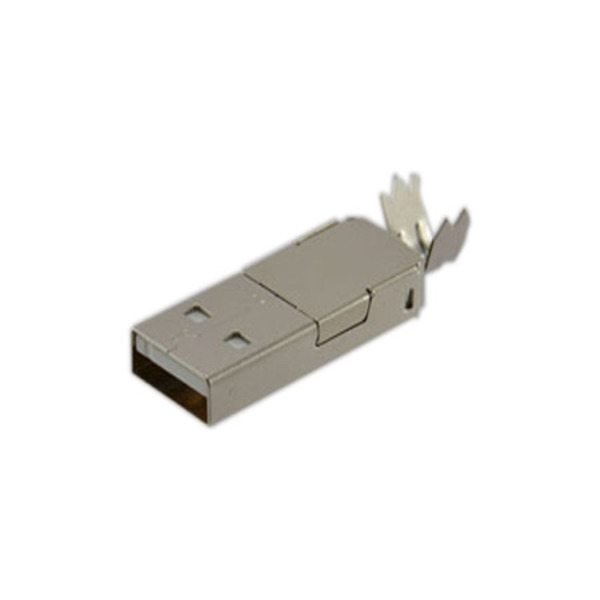 USB-Stecker 2.0 Typ A, mit Lötanschluss