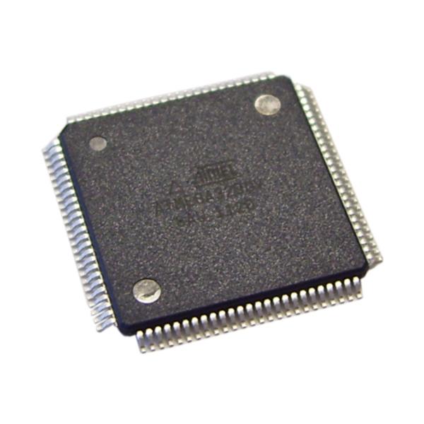 Atmel Mikrocontroller ATXmega 64A1-AU, TQFP-100