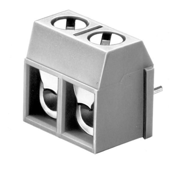 Adels-Contact Schraubklemmleiste GSK 820 H/ 2, horizontal, 2-polig