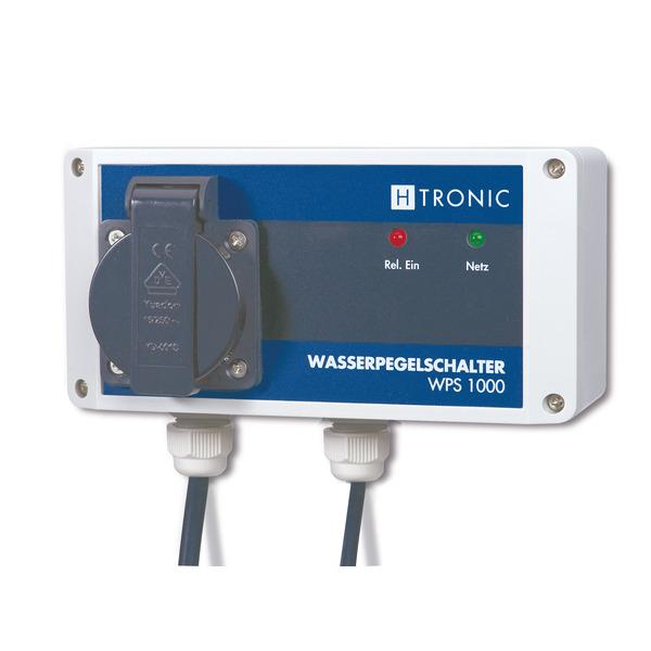 H-Tronic Wasserpegelschalter WPS 1000 V2 mit 10 Meter Sensorkabel