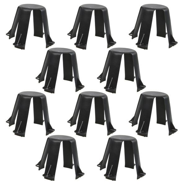 HEITRONIC 10er Pack Lampen-Abstandshalter für Hohldecken 62-90 mm