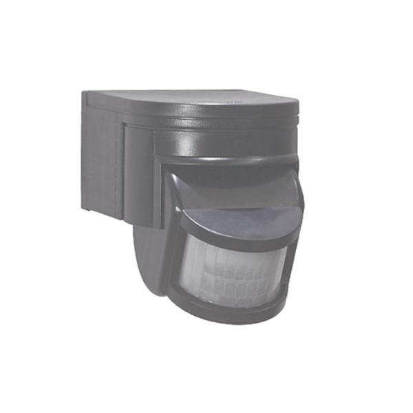 HEITRONIC SALO 180° Bewegungsmelder, schwarz, LED-geeignet
