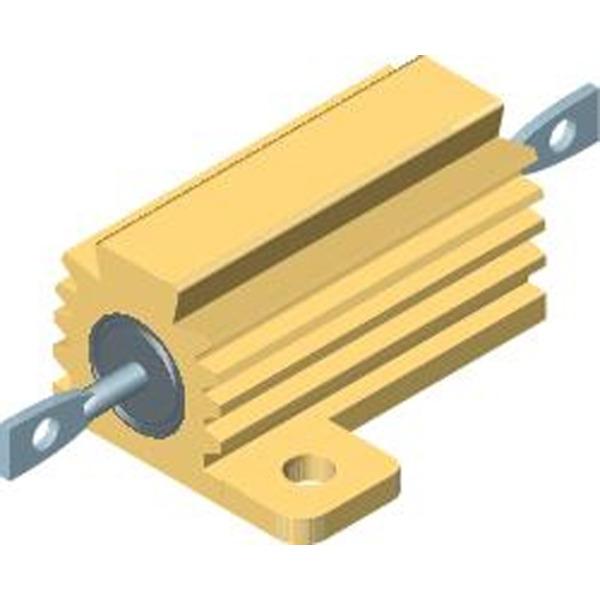 Vishay Drahtwiderstand im Metallgehäuse RH25F15R, 25 W 1 % 15 Ohm