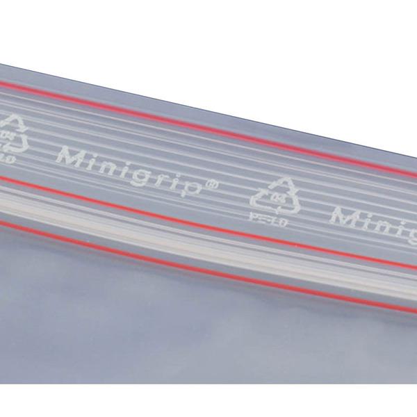 Minigrip-Beutel MG70, 100 Stück, 70 x 100 mm
