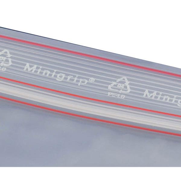 Minigrip-Beutel MG120, 100 Stück, 120 x 170 mm