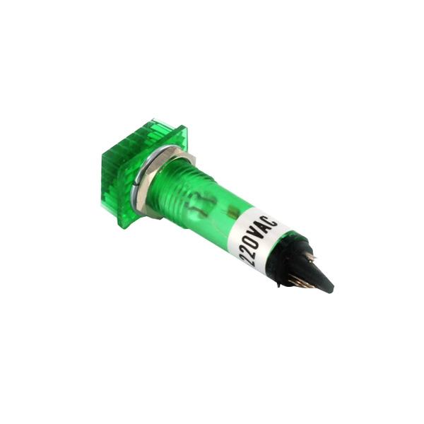 Signallampe neon 220 V, grün