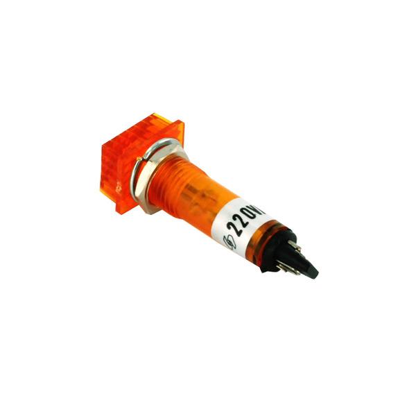 Signallampe neon 220 V, orange