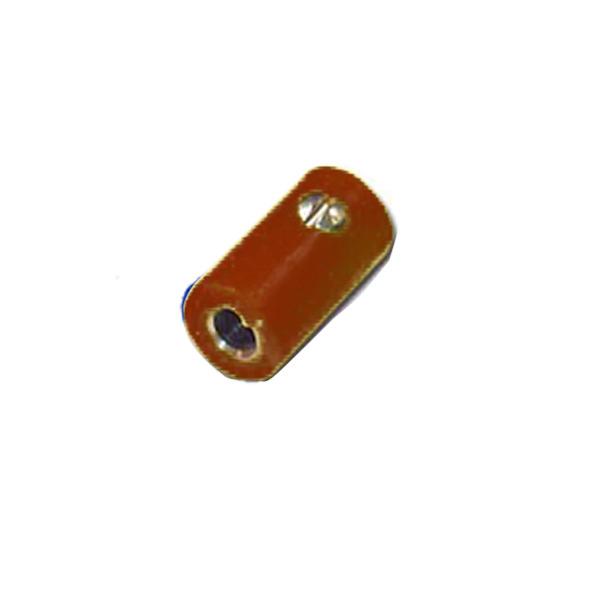 HO-Kupplung 2,6 mm, braun