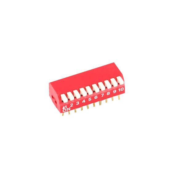 DIP-Schalter Piano, 10-pol