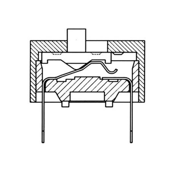 DIP-Schalter RM2,54 3-pol