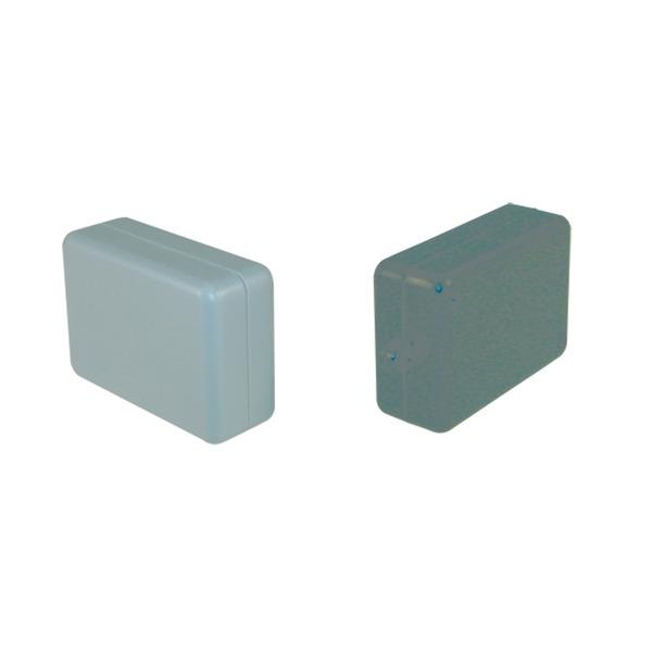 Strapubox Mini-Modul-Gehäuse 2043 ABS, 54 x 37 x 21 mm, schwarz