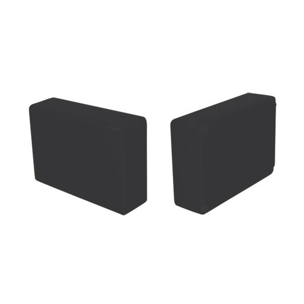 Strapubox Kunststoff-Gehäuse 2022 ABS 72 x 50 x 21 mm, schwarz