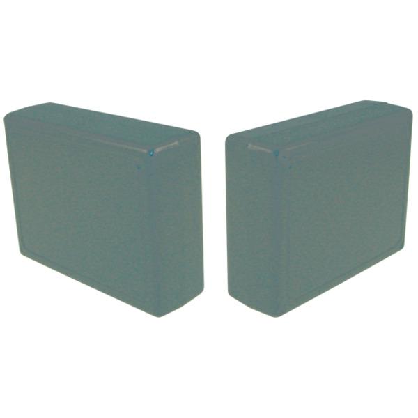 Strapubox Kunststoff-Gehäuse 2062 ABS 85 x 65 x 27 mm, schwarz