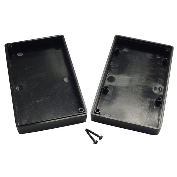 Strapubox Kunststoff-Gehäuse 2000 ABS 101 x 60 x 26 mm, schwarz