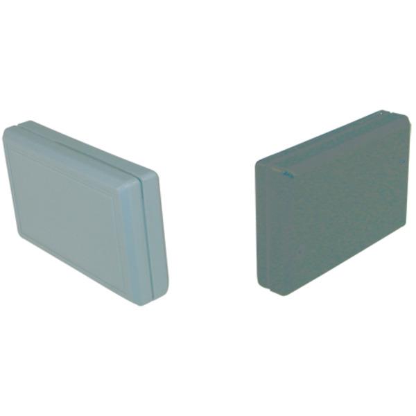Strapubox Kunststoff-Gehäuse 2045 ABS 61 x 38 x 13 mm, schwarz