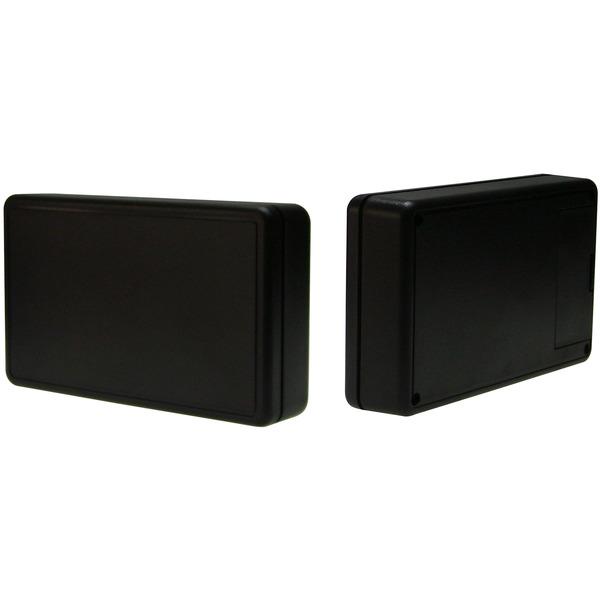Strapubox Kunststoff-Gehäuse 6006 ABS 125 x 74 x 27 mm, schwarz