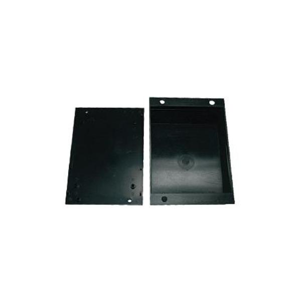 Strapubox Modul-Gehäuse 518 ABS 108 x 89 x 45 mm, schwarz